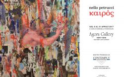 Nello Petrucci Agora gallery New York April 2017